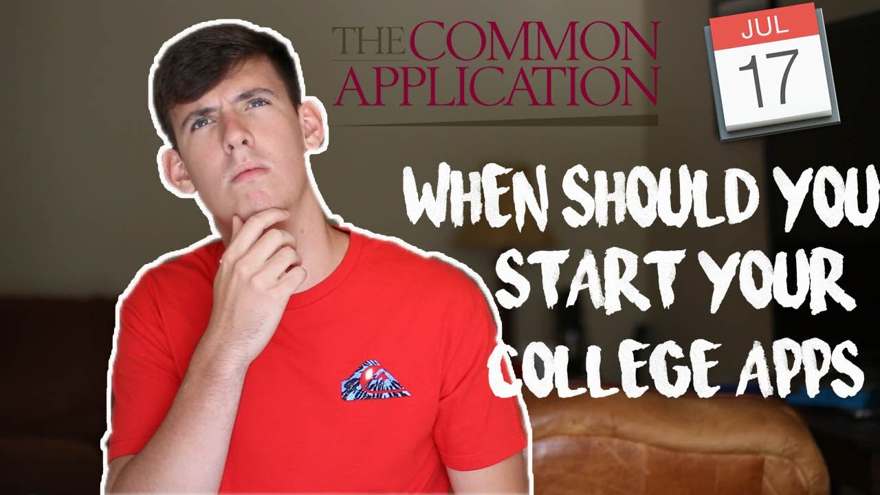How do i start my college application essay