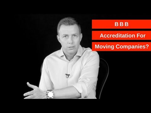 BBB Accreditation For Moving Companies?