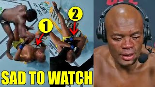 MMA Community reacts to Anderson Silva's loss, Dana White is ANGRY at Uriah Hall