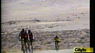 Tour d'Afrique 2005 on the news with David Houghton
