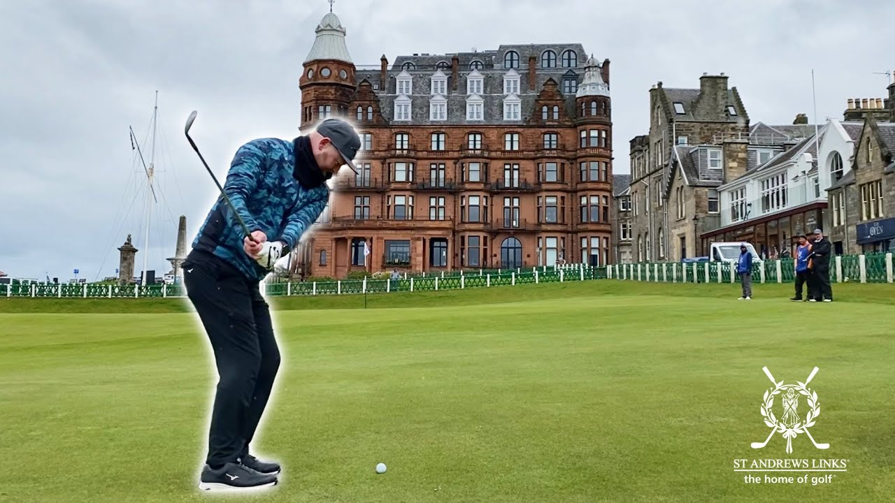 I CAN'T BELIEVE THIS HAPPENED....PLAYING ST ANDREWS GOLF COURSE WITH MY DAD!