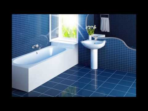 Blue Tile Bathroom for Home Decorating Ideas