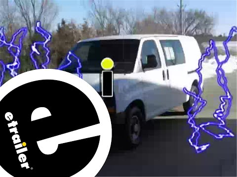 hqdefault trailer wiring harness installation 2007 chevrolet express van GM Wiring Harness at mifinder.co