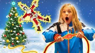 Амелия и Авелина спасают Рождество. Новогоднее приключение. Дед Мороз потерял все подарки!