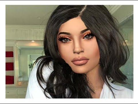 sims 4 kylie jenner cas cc list download youtube