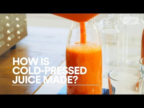 How Is Cold-Pressed Juice Made?