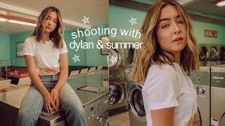 photoshoot with dylan jordan & summer mckeen