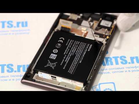 Nokia Lumia 925 как разобрать, ремонт и сборка Lumia 925