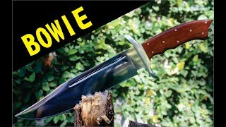 BOWIE 'bowie knife step by step¨