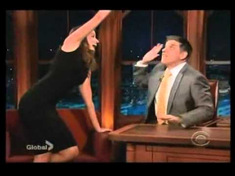 Mercedes Masohn on Craig Ferguson 01-11-12 (End of interview ...