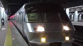 臨時特急にちりん197号 博多駅5番のりば入線