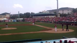 Pete Kozma bats vs Marlins 26 March 2015