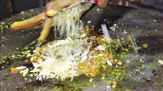 Delicious Egg Lapeti | Boiled Egg Tikka | Lucky Omelette | Egg Street Food | Street Food India
