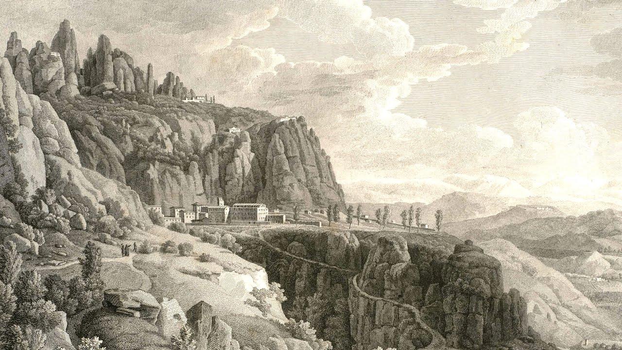 MONTSERRAT ANTES DE SU DESTRUCCIÓN, EN EL AÑO 1811