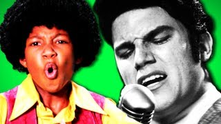 Epic Rap Battles Of History - Behind the Scenes Michael Jackson vs Elvis Presley