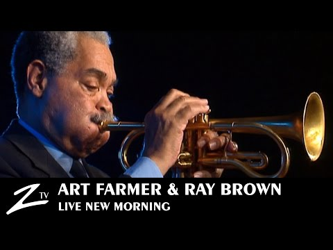 Art Farmer & Ray Brown - In a Sentimental Mood - LIVE HD