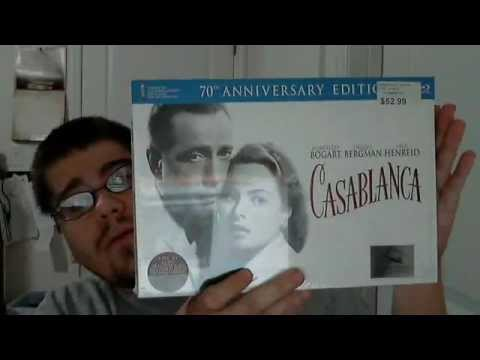 Casablanca 70th Anniversary Ultimate Collector's Edition Blu-Ray/DVD Box Set Unboxing