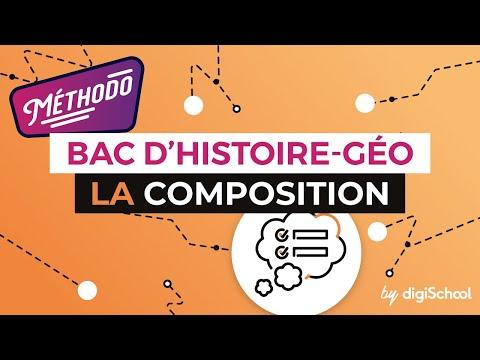 La composition au Baccalauréat - Histoire Géographie