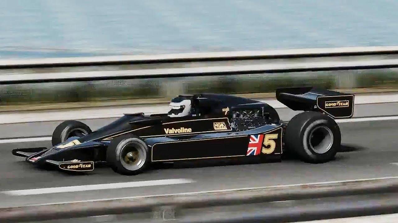 pCARS Lotus 78 Cosworth. California Highway - YouTube