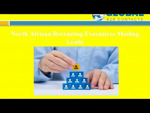 North African Recruiting Executives Mailing Leads