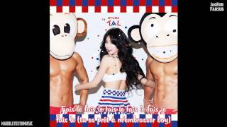 [VOSTFR] Hyuna - French Kiss