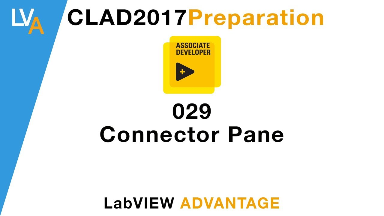 LabVIEW CLAD 029 Connector Pane