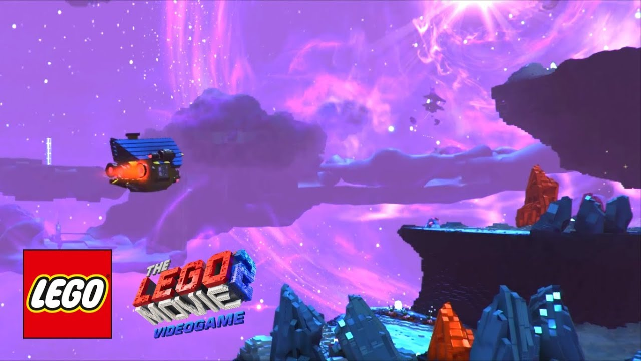 Exclusive The Lego Movie 2 Videogame Level 2 Asteroid Field Gameplay Walkthrough Youtube