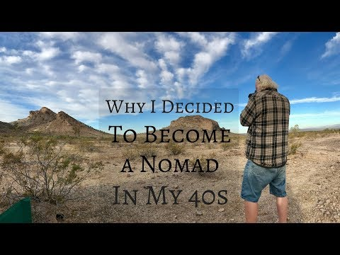 Why I Decided to Become a Nomad in my 40s