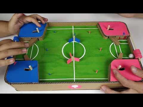 DIY football match toy, corrugated football