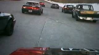 Kingsport Speedway: Pure 4 in-car footage 11-7-09
