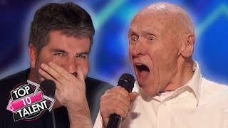TOP 10 BEST And WORST SURPRISING Rock Auditions On Got Talent And Idol!