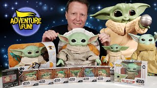 Baby Yoda the Child, Mandalorian Yoda Collection, Baby Yoda Toys Unboxing Adventure Fun Toy review!