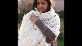 ВЯЗАНИЕ ШАЛЕЙ КРЮЧКОМ - видео - 2019 / KNITTING shawls HOOK - Video / KNITTING Schals HOOK - Video