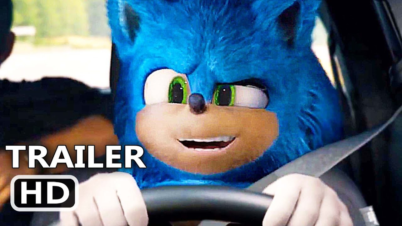 Sonic The Hedgehog Sonic Plays Vin Diesel Trailer 2020 Funny Movie Hd Youtube