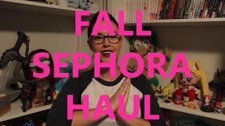 Fall Sephora Haul Thumbnail