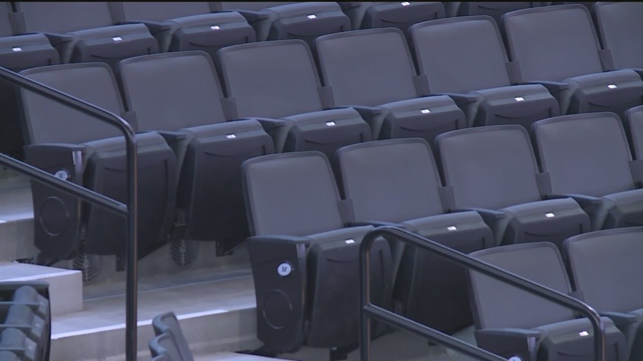 Golden 1 Center Seats Cup Holders