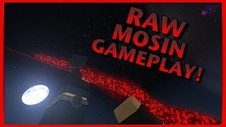 RAW Mosin Gameplay! (Why I Don't Record on Crane Site) - Roblox: Phantom Forces