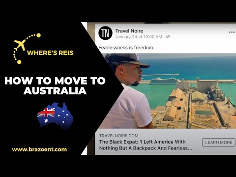 TRAVEL TIP: How To Move To Australia - S1 E1