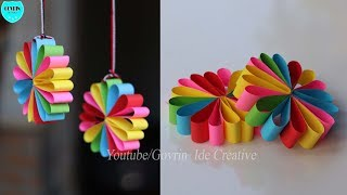 Paper Wall Hanging Ideas   Home Decor Ideas| Wall Decoration Ideas At Home
