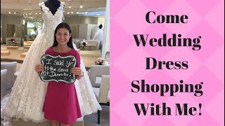 I said YES TO THE DRESS! COME WEDDING DRESS SHOPPING WITH ME! Part 2 #BrideToBe Vlog