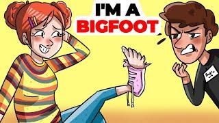 I'm a Bigfoot. I Wear Shoe…