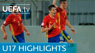 See the all the drama as Spain came back from a goal down to beat G...