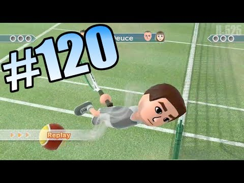 Wii Have Fun #120: Wii Sports Club Tennis (Game 1)