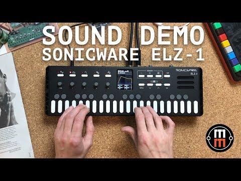 Sonicware ELZ 1 sound demo (no talking)