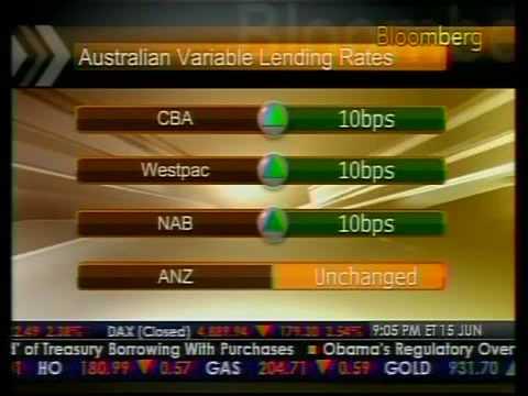 Commodity Stocks Lead Declines In Australian Stock Market - Bloomberg