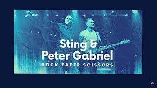 STING PETER GABRIEL 2016 06 21 2016 07 24 ROCK PAPER SCISSORS NORTH AMERICAN TOUR