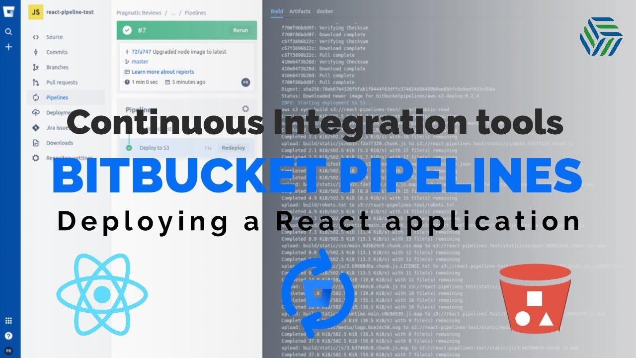 React.js | Deployment with Bitbucket Pipelines | AWS S3 bucket