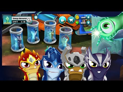 FIRE, WATER, AIR, EARTH, ENERGY ELEMENTALS! SEE WHAT THEY CAN DO! SLUGTERRA SLUG IT OUT 2!