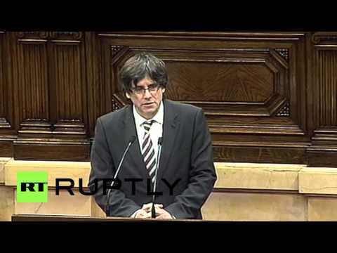 Spain: Catalonia one step closer to independence as new regional president voted in