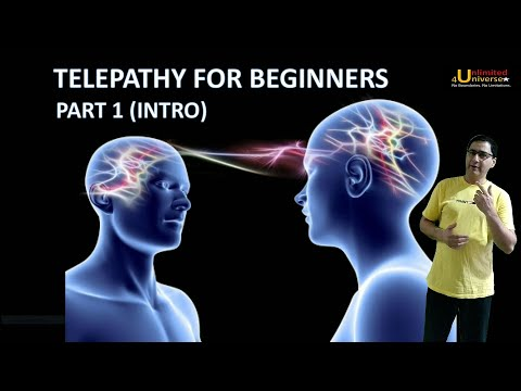 Telepathy | Telepathy For Beginners - Part 1 | No False Claims